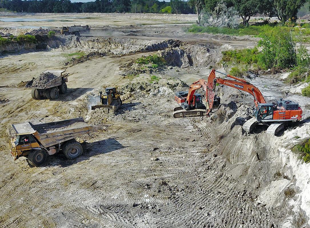 Cemex Center Hill Site Development